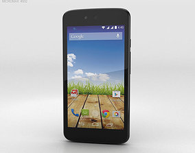 3D model Micromax Canvas A1 Magnetic Black