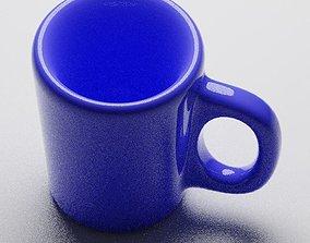 3D printable model tea mug