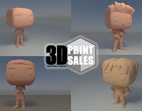 4x3 Promo Pack 2 - Custom Pop 3D Printable Models DIY