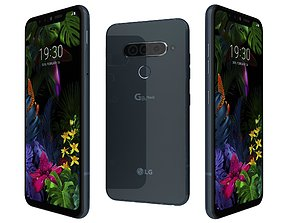 LG G8s ThinQ New Moroccan Blue 3D