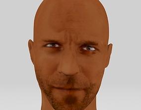 Jason statham head actor action movie printer game-ready