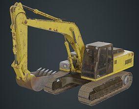3D model Excavator 1B