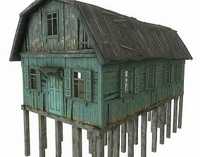 Old River House 3D asset