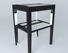 GOA nightstand houses the world 3D model