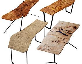 3D model Slab Tables Set 3