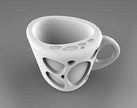 River Stone Mug 3D printable model