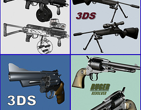 3D Weapon Collection