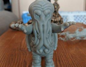3D printable model Little Cthulu