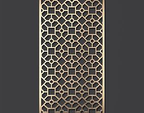 Decorative panel 256 3D model