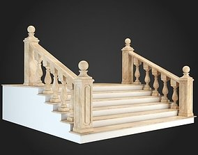 3D interior stairs Staircase