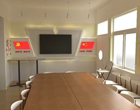 conference room space 3D