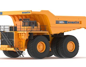 Komatsu 980E-4 3D model