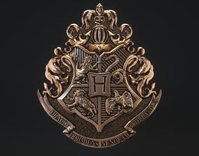 3D printable model Hogwarts Crest