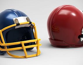 American Football Helmet 3D printable model