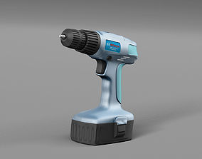 Screwdriver Bosch 3D model
