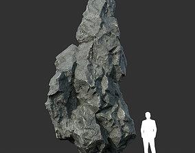 Black Rock Formation 07 191228 3D asset