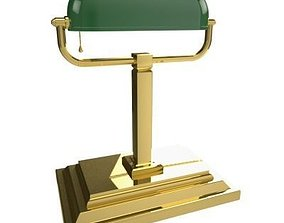 interior Desk Lamp 3D model