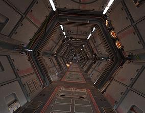 Scifi Corridor 3D model