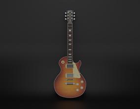 3D Gibson Les Paul Standard 60s
