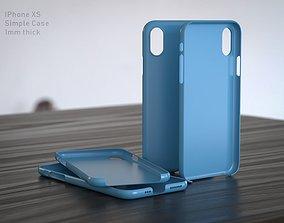 3D print model IPhone XS Case