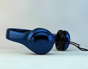3D asset game-ready Headphones