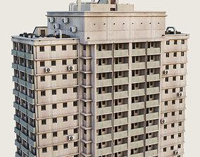 Building Skyscraper City Town Downtown 3D model 4