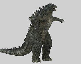 Godzilla 3D model game-ready