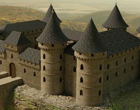 3D model fort Castle