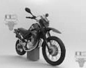 3D asset yamaha xt 660