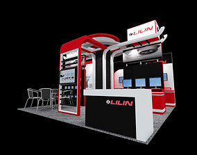 Lilin Exhibition booth 3d 3D