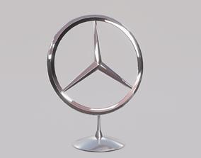 Mercedes Emblem 3D model