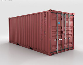 Shipping Container 20ft 3D