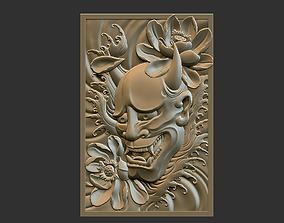 3D printable model Oni Pendant
