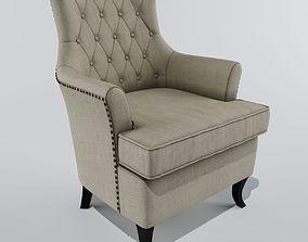 3D model armchair Genesis