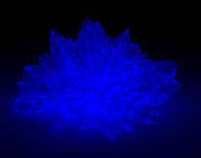 Glowing Crystal 3D model