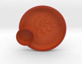 Olives Dish 3D print model