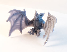 Direbat - 3D Printable Monster - 2 Poses