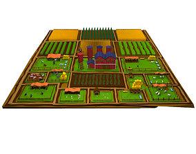 3D Low Poly Animal Farm