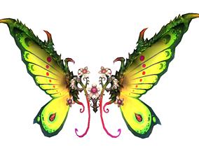 3D asset Butterfly-4 Wing