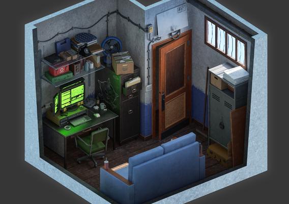 Hacker's room