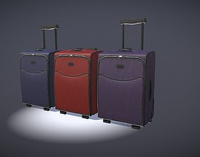 3D asset luggage 1