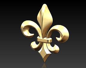3D printable model Lys flower Fleur de lys