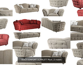3D model GOLD CONFORT SCARLETT Pack