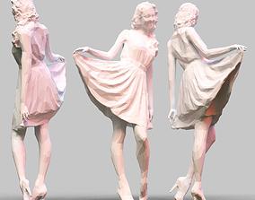 Girl Posing 3D printable model