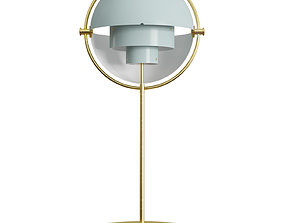 Multi-Lite Table Lamp 3D