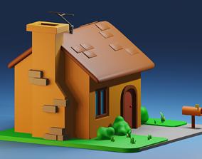 home cartoon house 3D