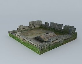 Tomb Raider 3D Scene Work In Progress