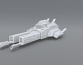 3D print model sci-fi Spaceship