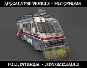 Apocalypse vehicle - Motorhome 3D asset
