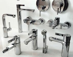 bathroom 3D model Faucet Hansgrohe Metris